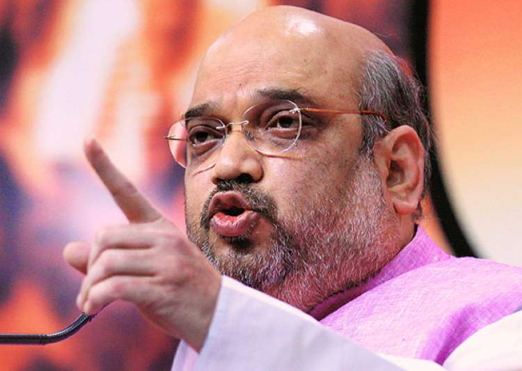 File pic - Amit Shah speaks to media - India Tv