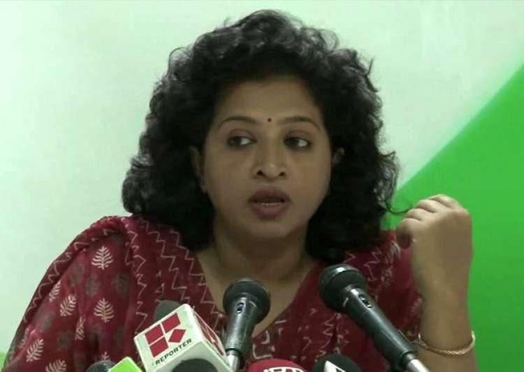 File pic of Congress spokesperson Shobha Oza- India Tv