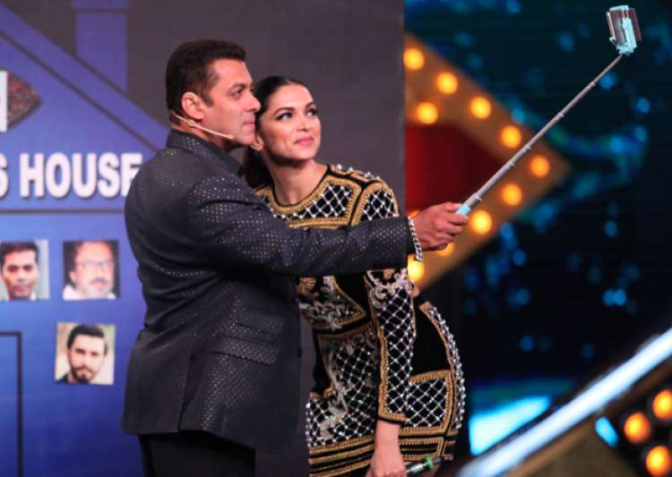 Deepika and Salman at Bigg Boss 10 premiere- India Tv