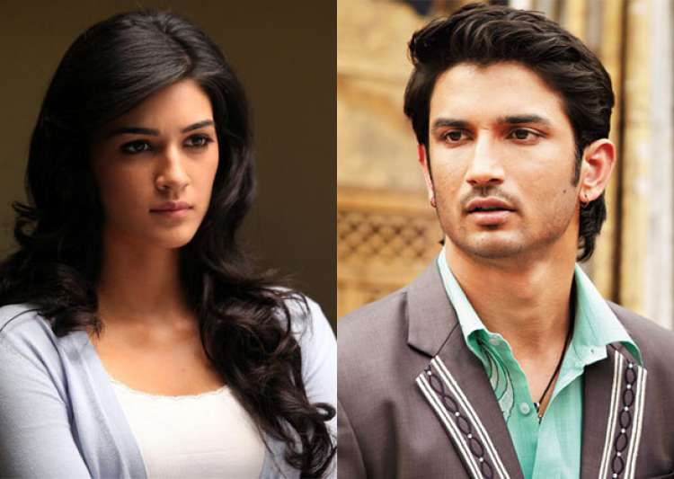 Ooppss! Kriti Sanon slapped Sushant Singh Rajput during- India Tv