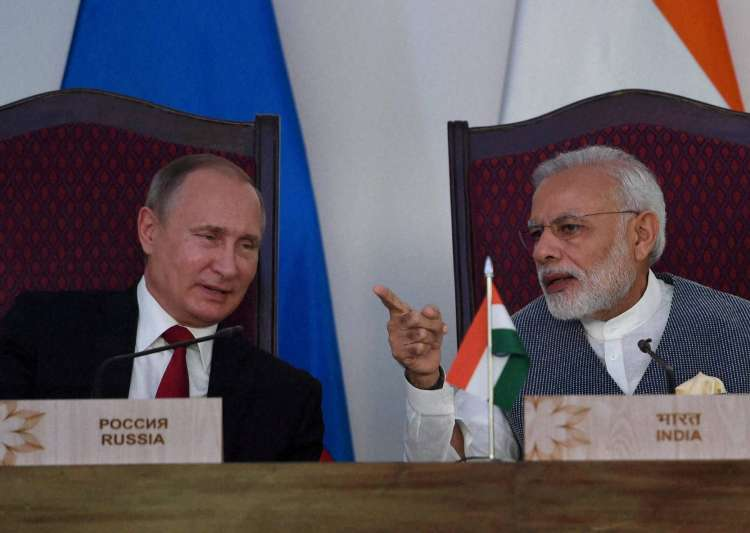 Defence deals, India-Russia, Modi-Putin- India Tv