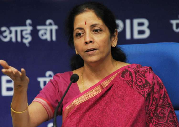 File pic of Commerce and Industry Minister Nirmala- India Tv