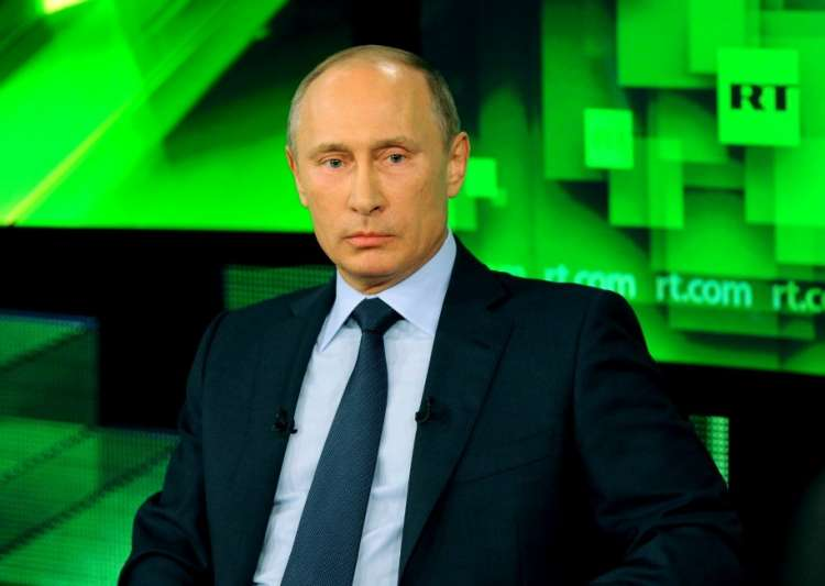 Vladimir Putin, RT, Russia Today, Russia state TV- India Tv