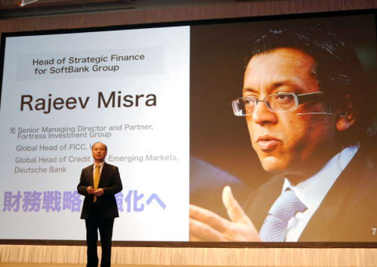 Softbank Rajeev Misra, Business- India Tv