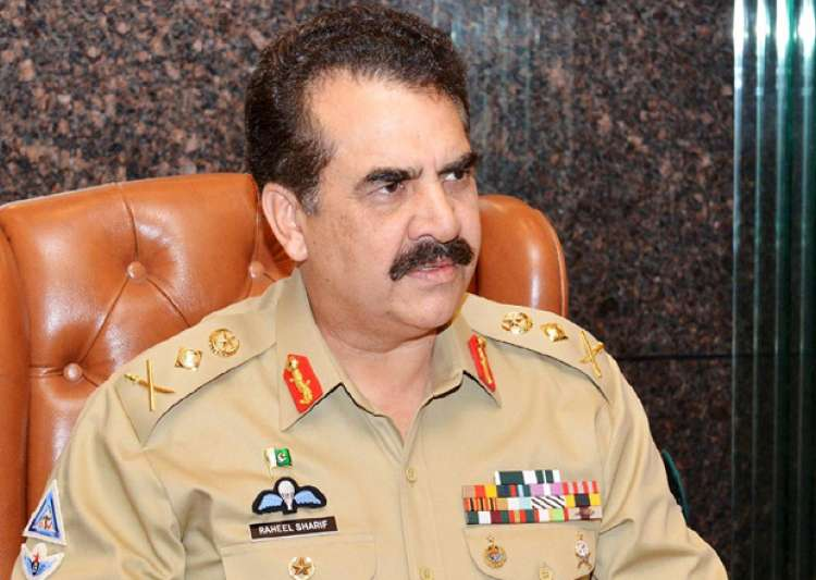 File pic of Pak Army chief General Raheel Sharif - India Tv
