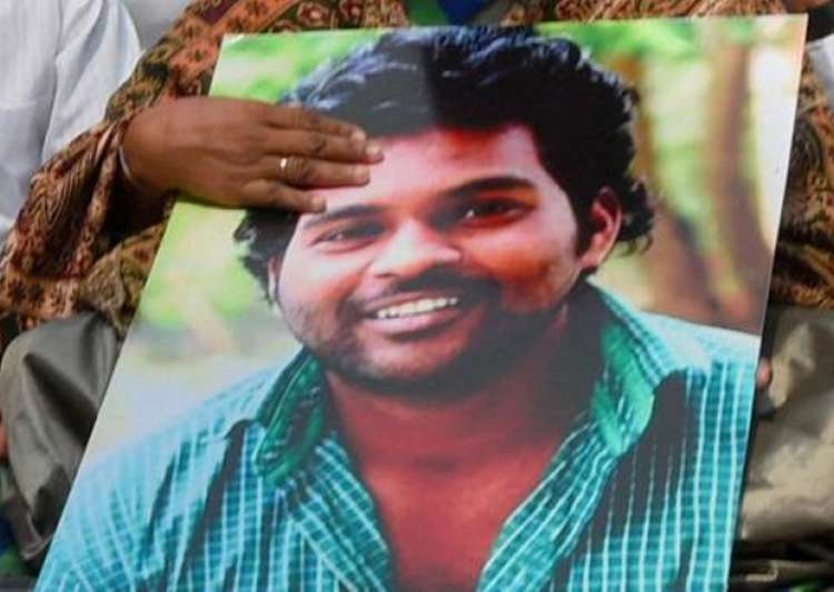 File pic of University of Hyderabad scholar Rohith Vemula- India Tv