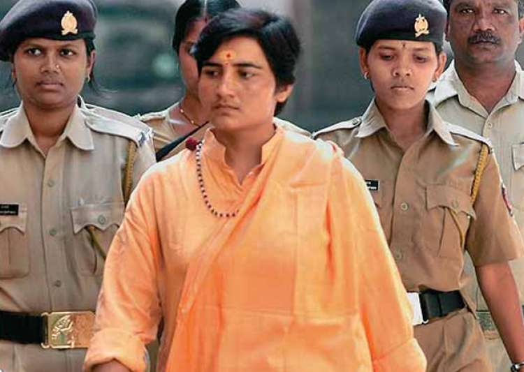 File pic of Sadhvi Pragya Thakur - India Tv