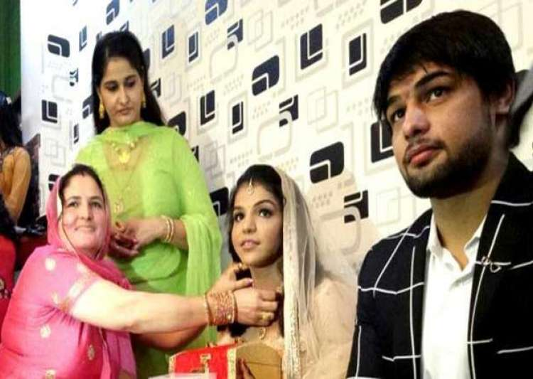 Sakshi Malik's engagement- India Tv