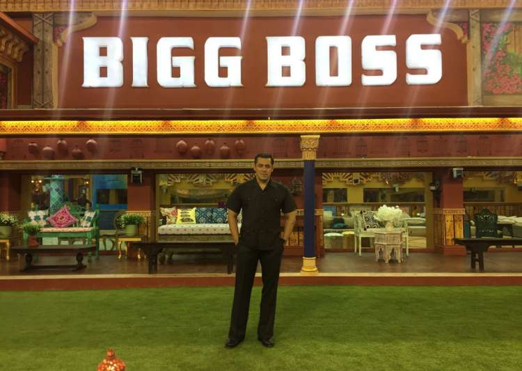 Salman Khan in Bigg Boss house