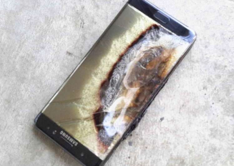 File pic of exploded Samsung Galaxy Note 7