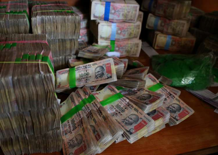 File pic of scrapped Rs 1,000 notes - India Tv
