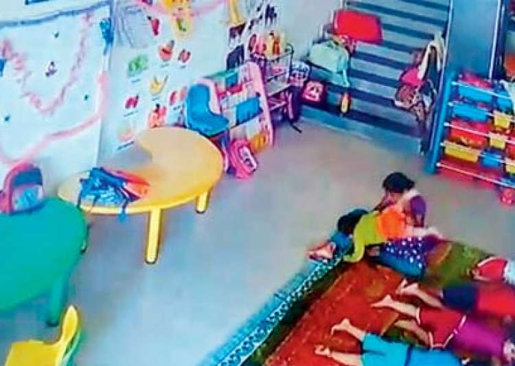 Day care maid beats, kicks 10-month-old baby girl