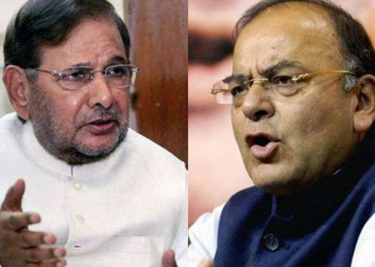 Sharad Yadav, Arun Jaitley- India Tv