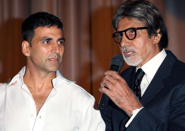 Big B and Akshay- India Tv