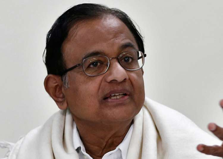 File pic of P Chidambaram- India Tv