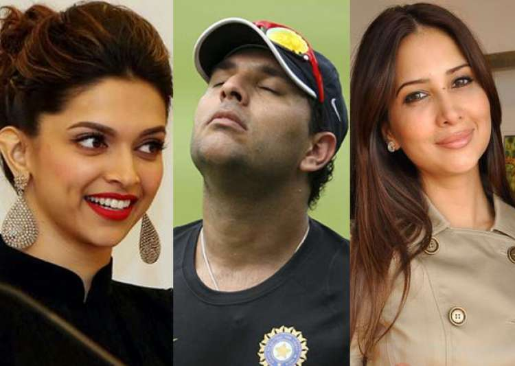 Deepika, Kim, Yuvraj- India Tv