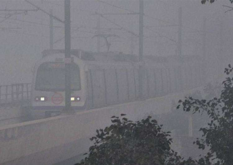 Delhi, North India witness season's first fog; flights- India Tv