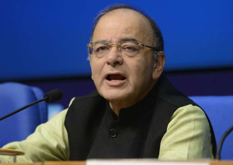 Arun Jaitley speaks to media in New Delhi- India Tv