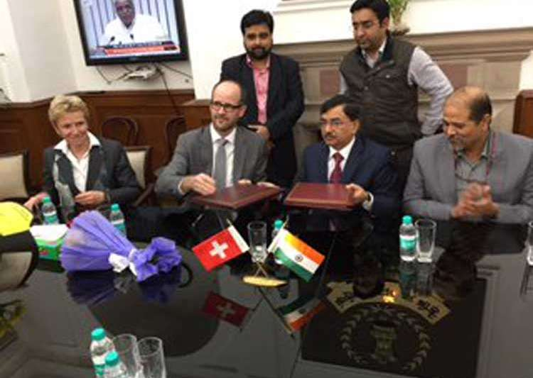 Black money, India, Switzerland, Joint Declaration
