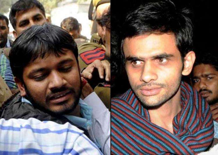 File Photo of Kanhaiya Kumar and Umar Khalid- India Tv