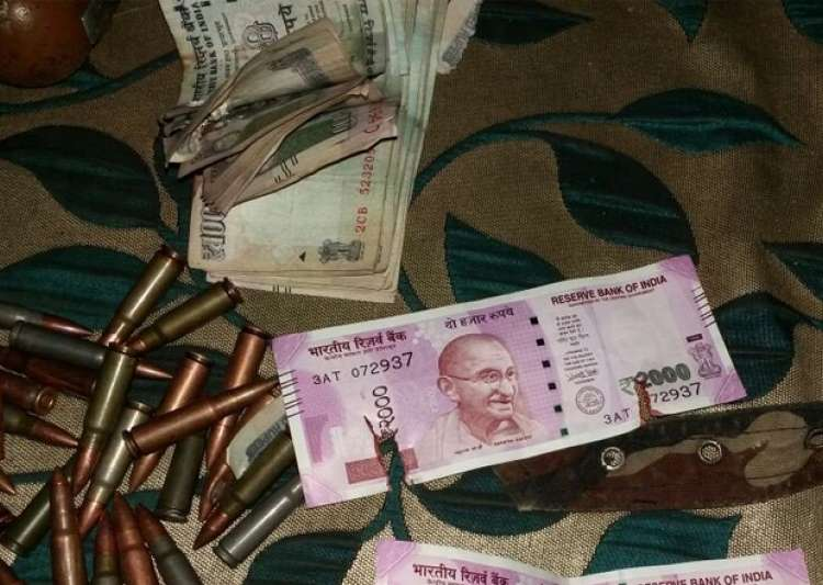 New Rs 2000 notes recovered from terrorists in Bandipora- India Tv