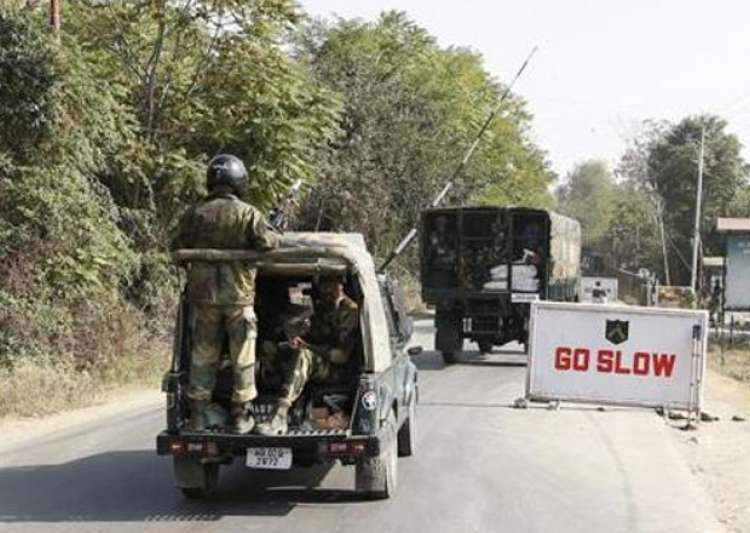 File pic - Militants attack security forces' convoy in- India Tv