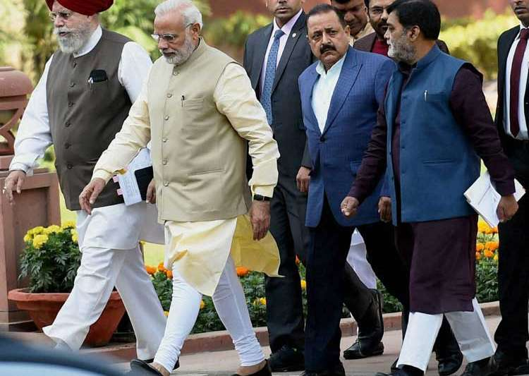 PM Modi likely to attend Rajya Sabha tomorrow- India Tv