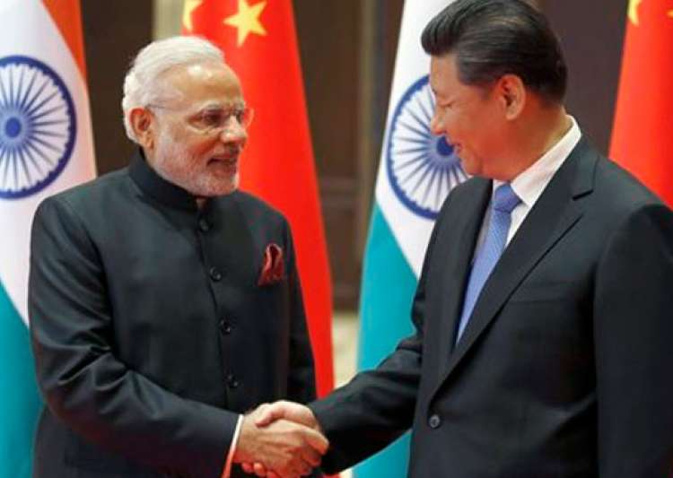 PM Modi with President Xi- India Tv