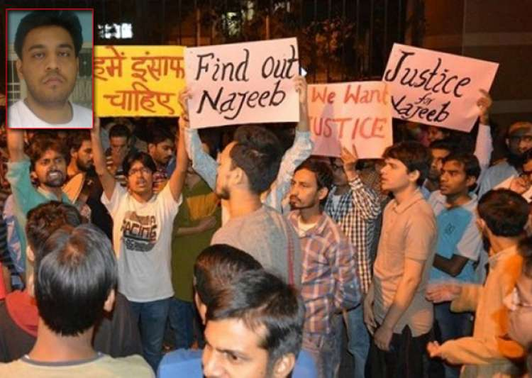 File pic - Missing JNU student in Aligarh, claims letter- India Tv