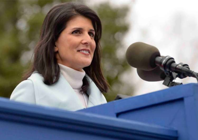 Nikki Haley elected Vice Chair of Republican Governors- India Tv