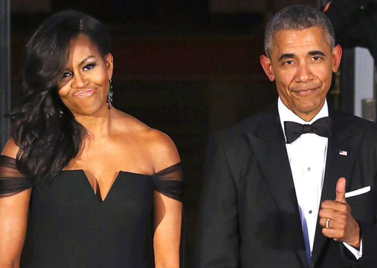 File pic - Michelle Obama and Barack Obama- India Tv