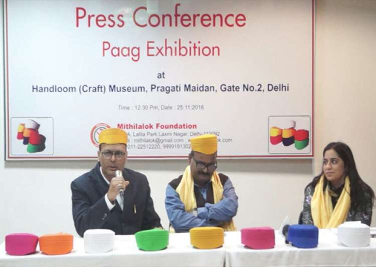 Mithila's cultural identity 'Paag' on display at Crafts- India Tv