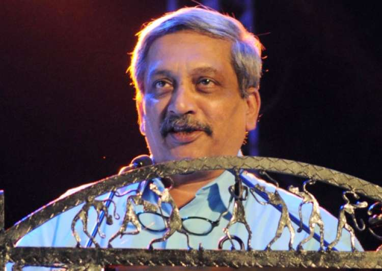 File pic of Defence Minister Manohar Parrikar