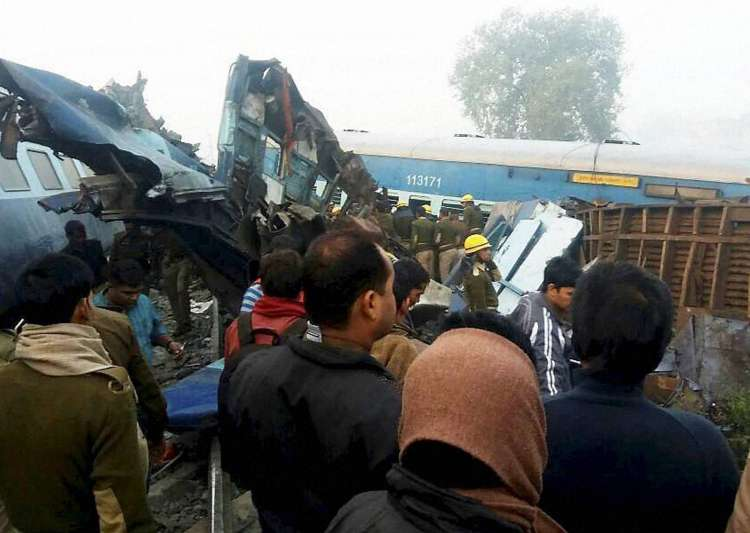 Indore-Patna express, train derail, Kanpur, train- India Tv