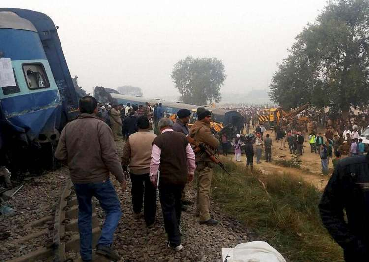 Rail fracture, Indore-Patna Express, derailment- India Tv