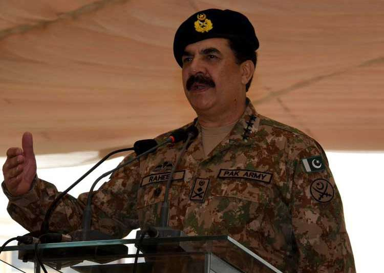Pakistan army chief, Raheel Sharif, Pakistan- India Tv