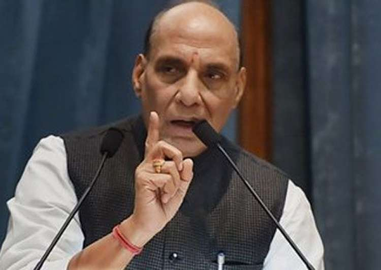 Rajnath Singh speaks in Lok Sabha- India Tv