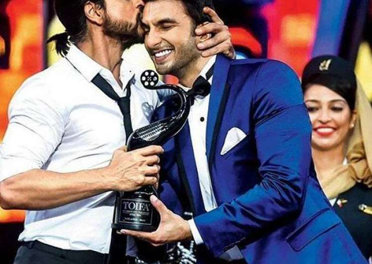 Ranveer says he isn't entering SRK's territory- India Tv