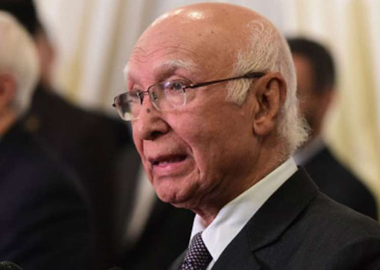 Sartaj Aziz- India Tv