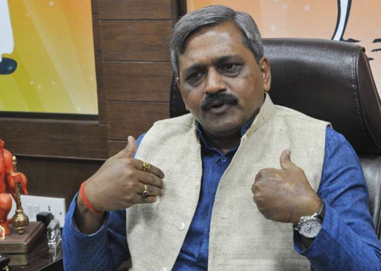 File pic - Delhi BJP Chief Satish Upadhyay- India Tv