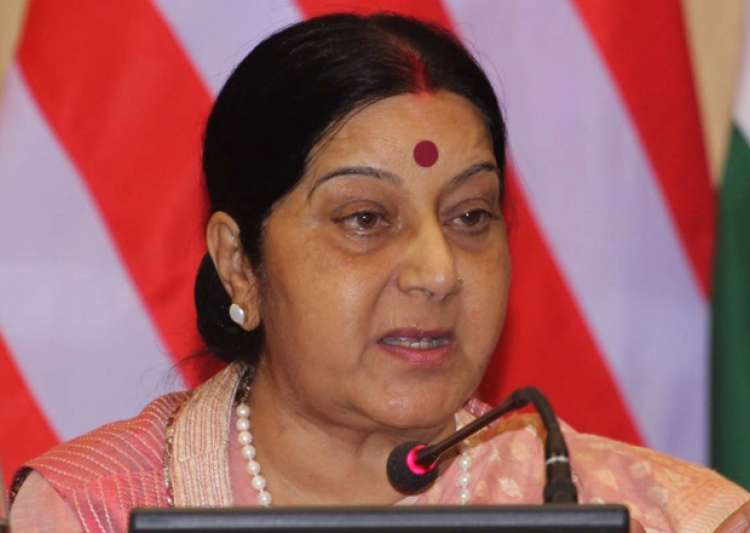 File pic of External Affairs Minister Sushma Swaraj- India Tv
