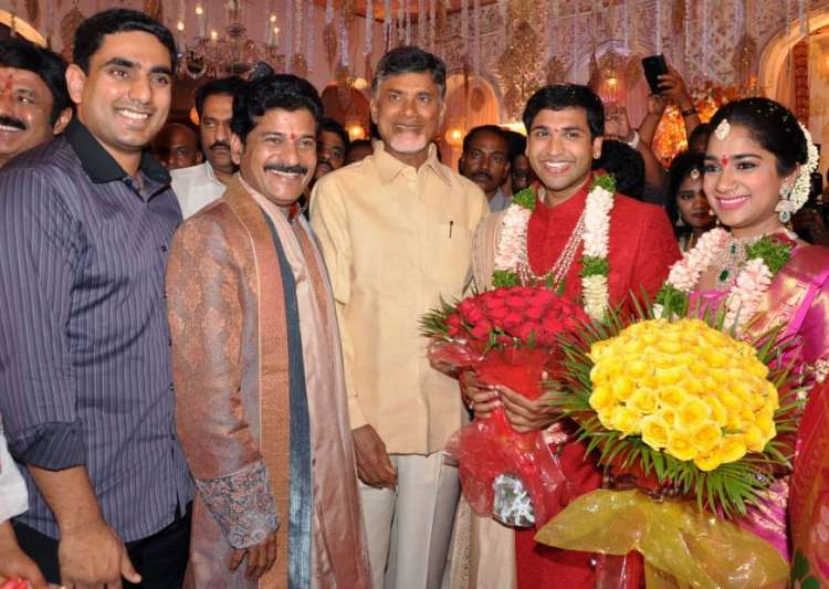 Janardhan Reddy's daughter's wedding- India Tv