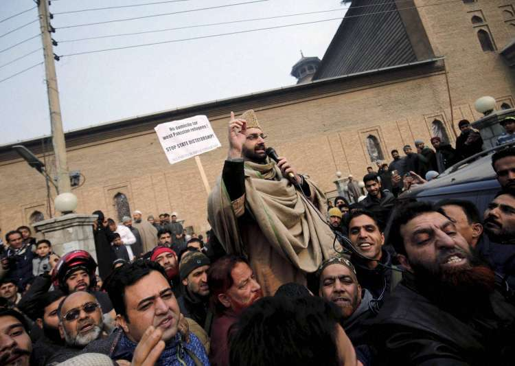 Mirwaiz Umar Farooq security cover downgraded by J&K govt
