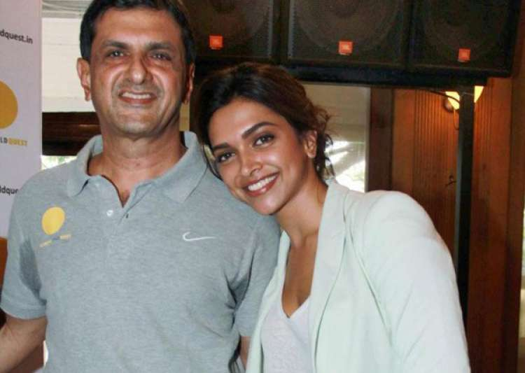 Prakash Padukone and Deepika- India Tv