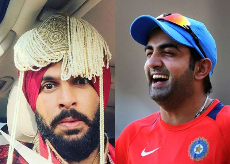 Gautam Gambhir's funny wish for new husband Yuvraj Singh- India Tv