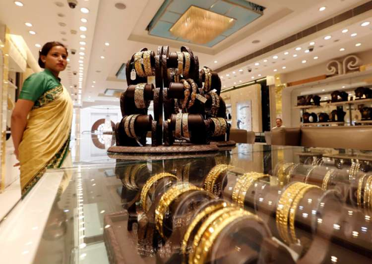 File pic - An inside view of a jewellery shop in Delhi- India Tv