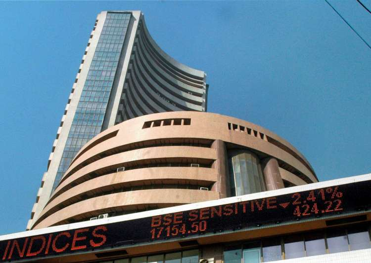 Sensex dips 329.26 points to close at 26,230.66.- India Tv