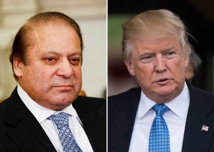 File pic - Nawaz Sharif, Donald Trump - India Tv