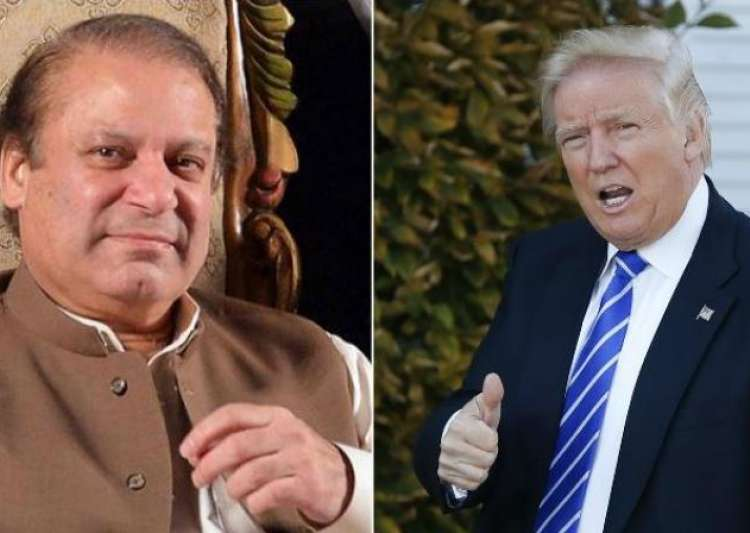 Donald Trump and Nawaz Sharif- India Tv