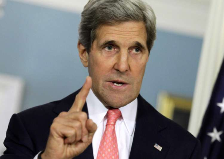 John Kerry has slammed Trump for his decision to pull US- India Tv